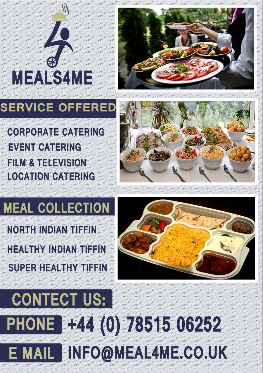 Contest Entry 20 For Design A Business Card Flyer My Food