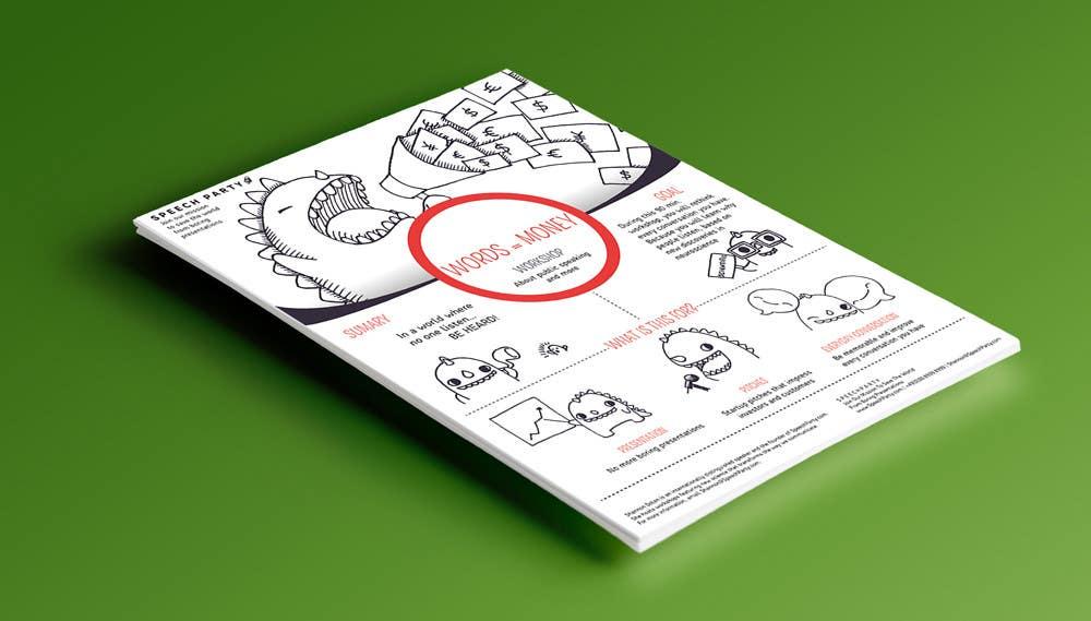 Konkurrenceindlæg #                                        2                                      for                                         Design a Flyer for Our Workshop: Words = Money