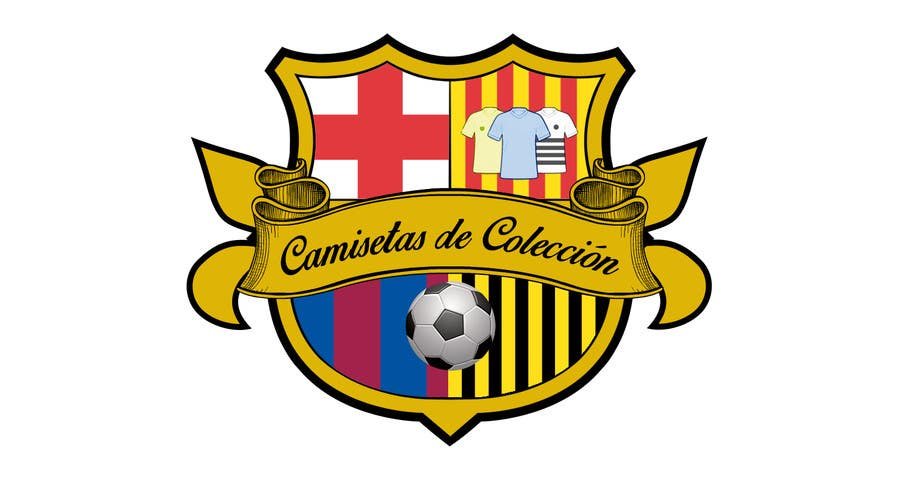 Contest Entry  12 for Diseñar un logotipo for Tienda Online Camisetas de  Futbol Antiguas de e47b3470d6fe0