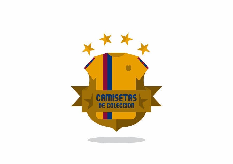 Konkurrenceindlæg #                                        24                                      for                                         Diseñar un logotipo for Tienda Online Camisetas de Futbol Antiguas de Coleccion_