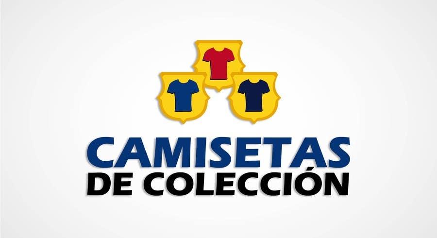 Contest Entry  3 for Diseñar un logotipo for Tienda Online Camisetas de  Futbol Antiguas de 83809ab99888f