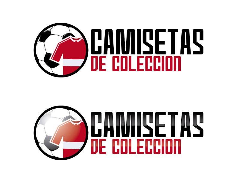 Contest Entry  22 for Diseñar un logotipo for Tienda Online Camisetas de  Futbol Antiguas de 4d4a6860db64e