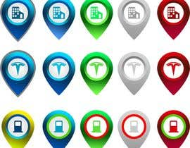 #18 cho Improve Icons for map markers bởi hubbak
