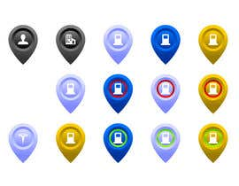 #30 for Improve Icons for map markers af moro2707