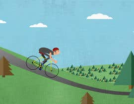 #7 for Graphic illustration for account on cycling af WeAreLuminosity