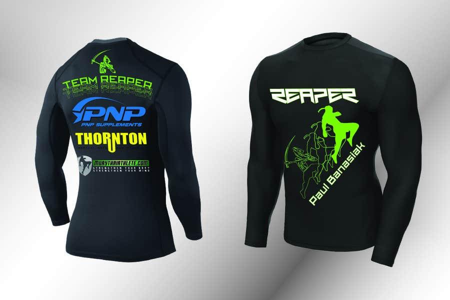 Konkurrenceindlæg #9 for Design a T-Shirt for a Fighter