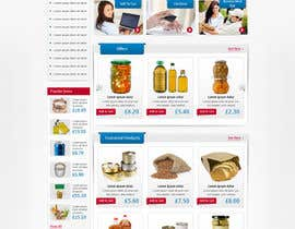 #20 para Design a Website Mockup for ONLINE SUPER MARKET por nitinatom