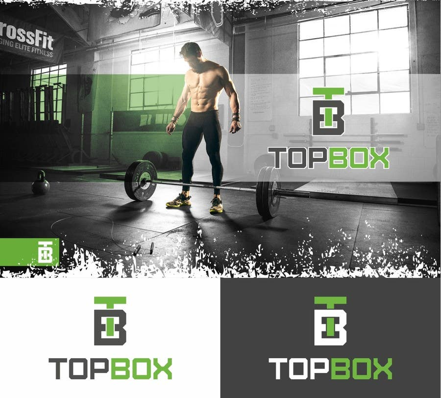 Contest Entry #164 for Logo Design for CrossFit Publication Top Box