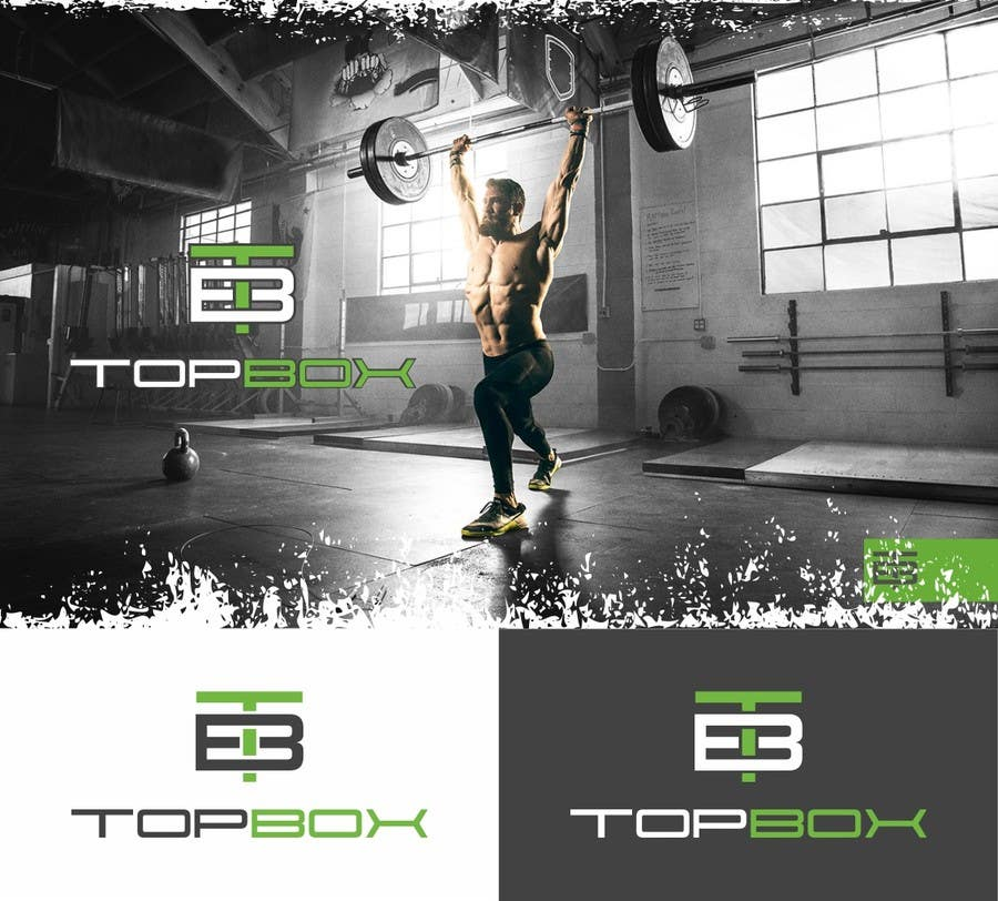 Contest Entry #                                        165                                      for                                         Logo Design for CrossFit Publication Top Box