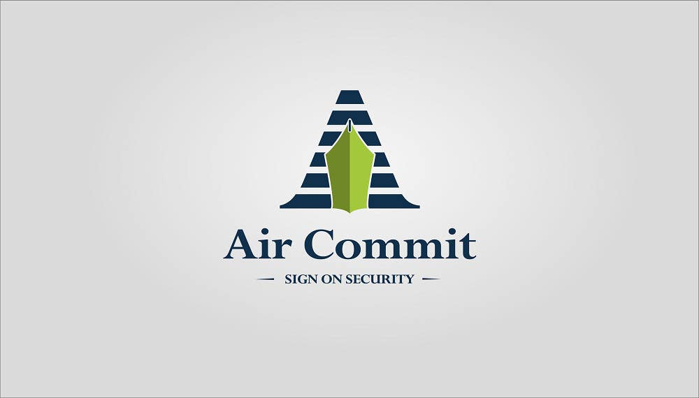 Konkurrenceindlæg #2 for Design a Logo for AirCommit