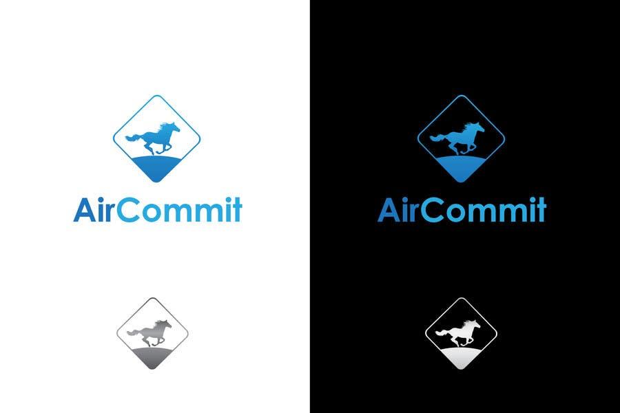 Konkurrenceindlæg #65 for Design a Logo for AirCommit