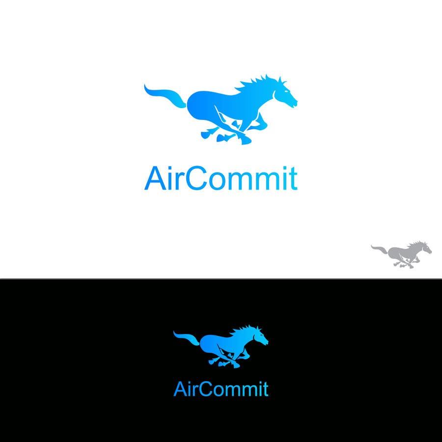 Konkurrenceindlæg #35 for Design a Logo for AirCommit