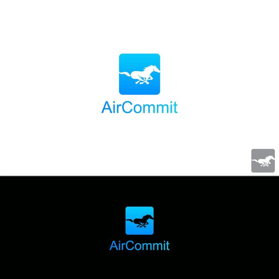 Konkurrenceindlæg #36 for Design a Logo for AirCommit