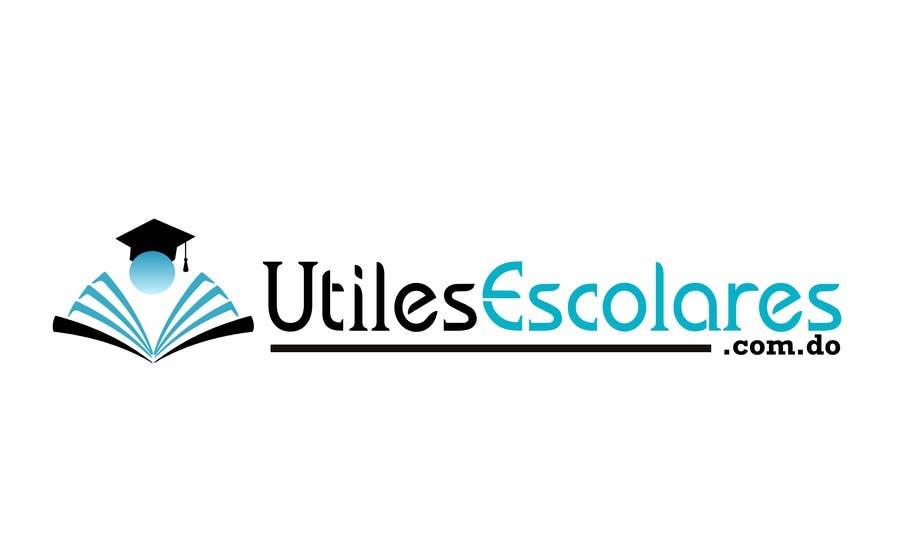 "Kilpailutyö #15 kilpailussa Design a Logo for ""utilesescolares.com.do"" (School Supplies in spanish)"