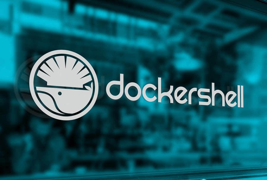Proposition n°                                        38                                      du concours                                         Design et logo til Docker Shell