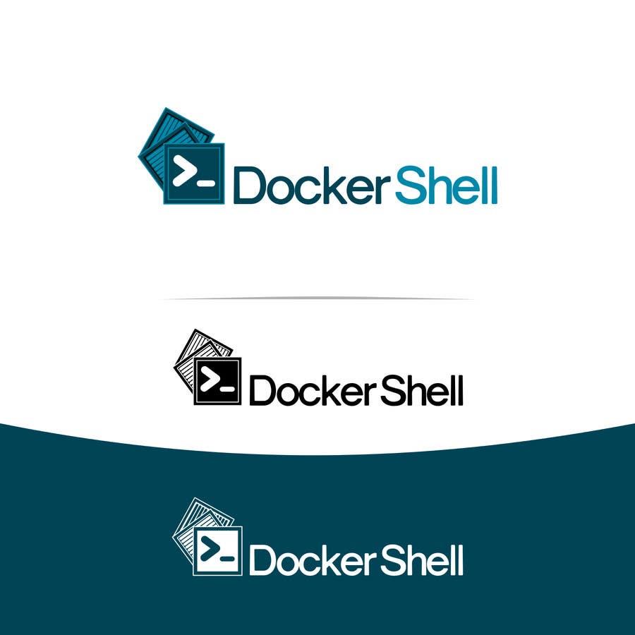 Contest Entry #                                        16                                      for                                         Design et logo til Docker Shell