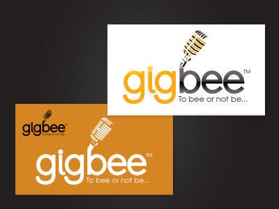 Contest Entry #                                        160                                      for                                         Logo Design for GigBee.com  -  energizing musicians to gig more!