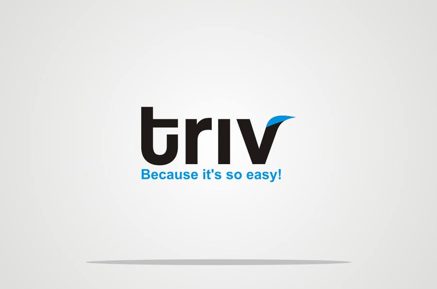 Penyertaan Peraduan #26 untuk Design a logo for triv.ch