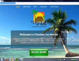 #13 para Need wordpress site designed for Jamaican Car Rental Agency por chillipatchweb