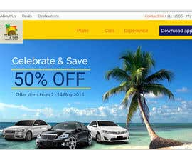 #19 for Need wordpress site designed for Jamaican Car Rental Agency by abhikreationz