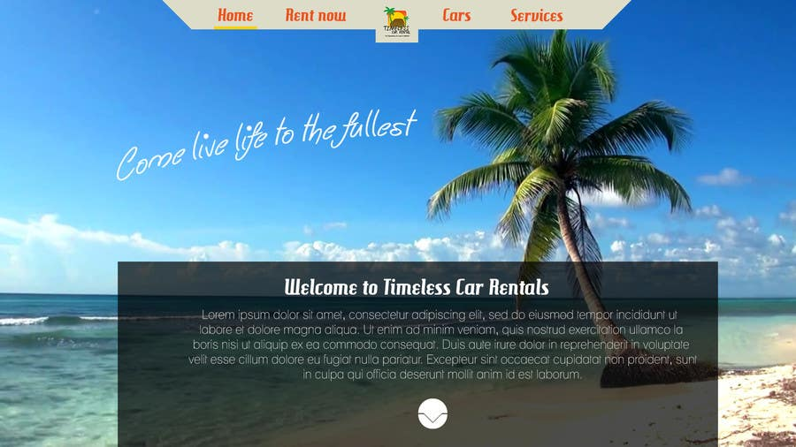 Inscrição nº 18 do Concurso para Need wordpress site designed for Jamaican Car Rental Agency