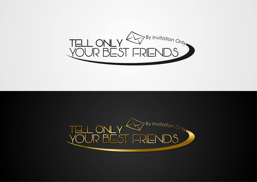 "Kilpailutyö #53 kilpailussa Design a Logo for a luxury travel company ""Tell Only Your Best Friends"""