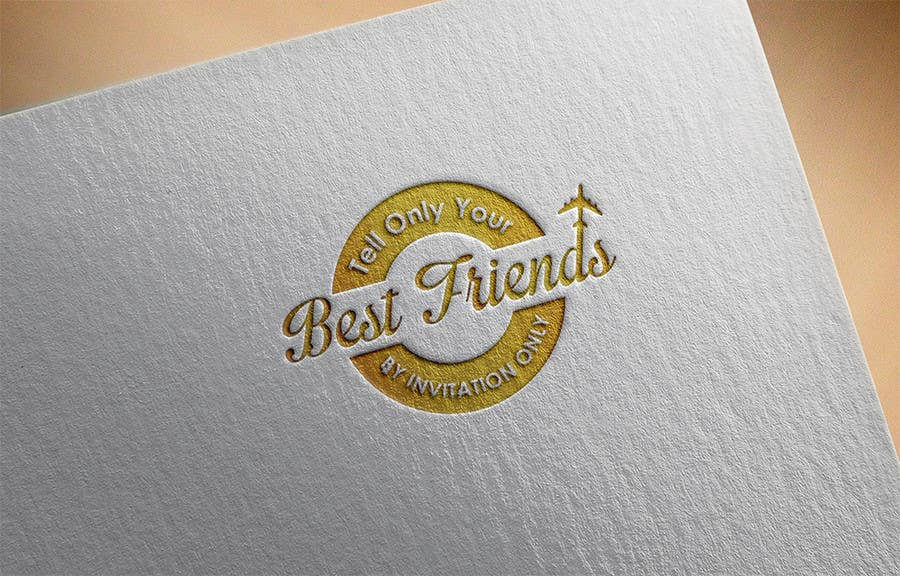 "Konkurrenceindlæg #                                        107                                      for                                         Design a Logo for a luxury travel company ""Tell Only Your Best Friends"""