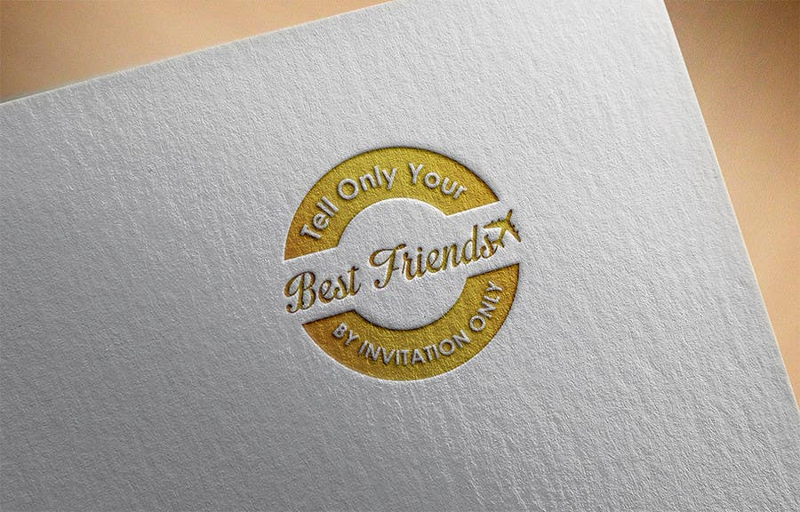 "Konkurrenceindlæg #                                        109                                      for                                         Design a Logo for a luxury travel company ""Tell Only Your Best Friends"""