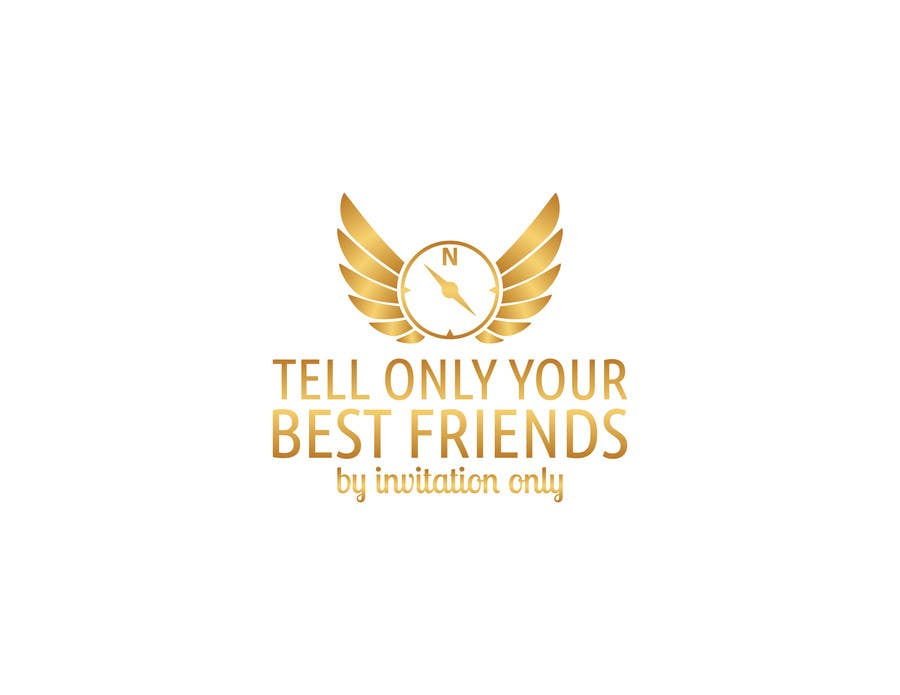"""Konkurrenceindlæg #                                        103                                      for                                         Design a Logo for a luxury travel company """"Tell Only Your Best Friends"""""""