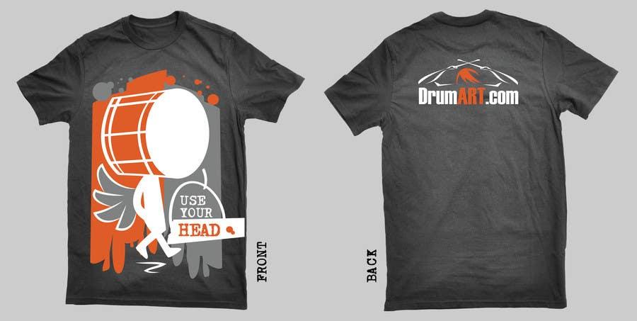 Contest Entry #                                        25                                      for                                         Design a T-Shirt for DrumART.com