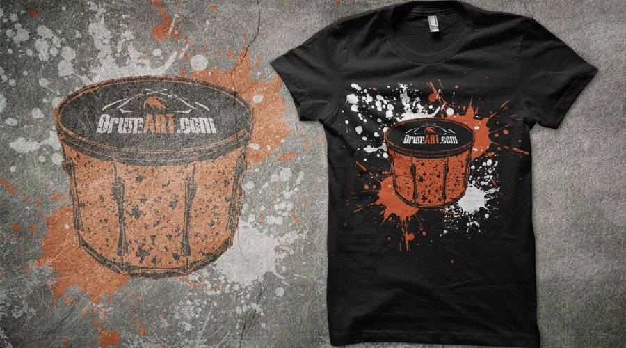 Contest Entry #                                        5                                      for                                         Design a T-Shirt for DrumART.com
