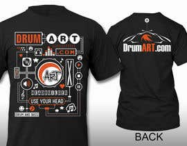 #23 cho Design a T-Shirt for DrumART.com bởi pipo2draw