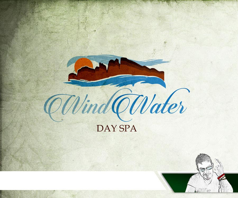 Contest Entry #                                        46                                      for                                         Design a Logo for Wind Water Day Spa
