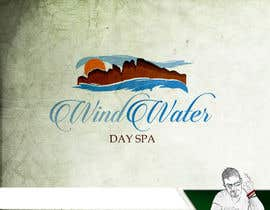 #46 untuk Design a Logo for Wind Water Day Spa oleh knon25