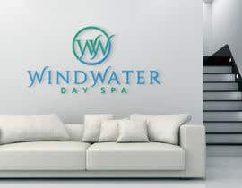 #18 untuk Design a Logo for Wind Water Day Spa oleh cbarberiu