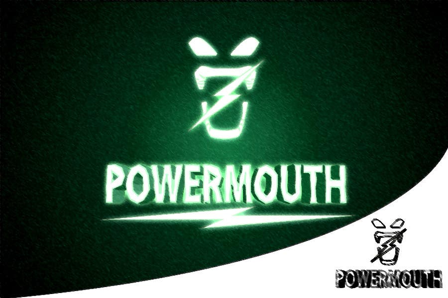 "Bài tham dự cuộc thi #60 cho Logo and Symbol Design for ""POWERMOUTH"", melodic industrial metal band"