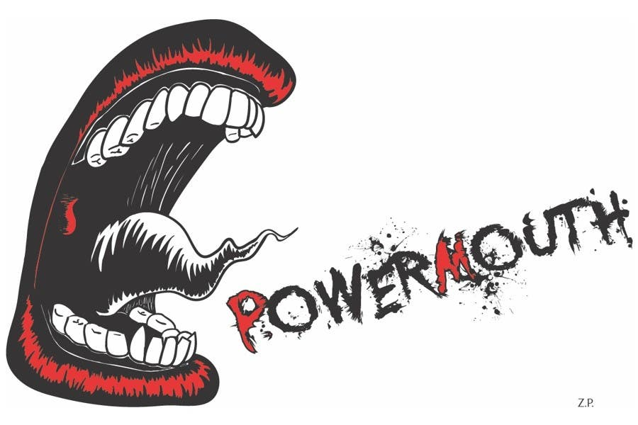 "Kandidatura #                                        50                                     për                                         Logo and Symbol Design for ""POWERMOUTH"", melodic industrial metal band"