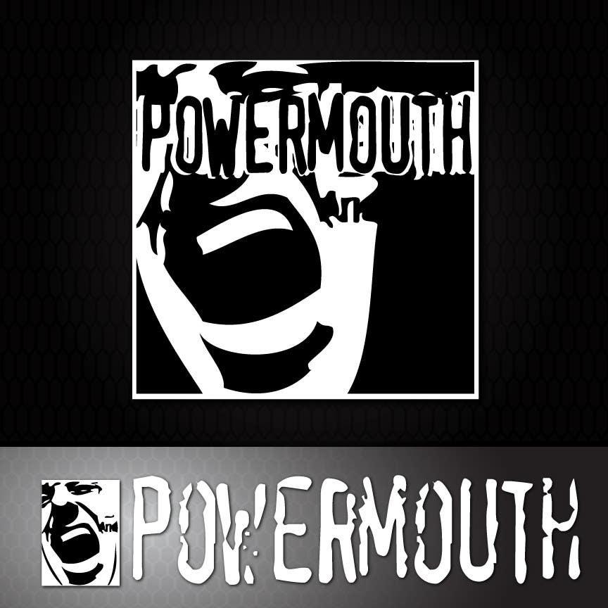 "Bài tham dự cuộc thi #46 cho Logo and Symbol Design for ""POWERMOUTH"", melodic industrial metal band"