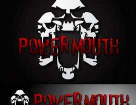 "#47 untuk Logo and Symbol Design for ""POWERMOUTH"", melodic industrial metal band oleh VPoint13"
