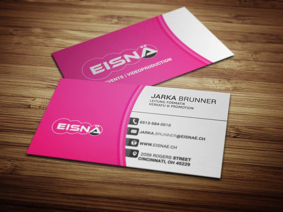 Konkurrenceindlæg #211 for Create a visitcard for our business