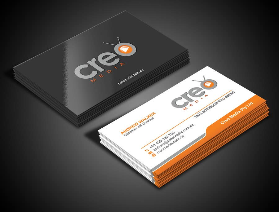 Contest Entry #                                        70                                      for                                         Design some Business Cards for Creo Media