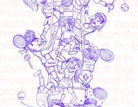 #9 untuk Illustrate Something for My Tennis Challenge oleh ProliSoft