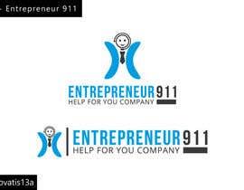 #66 untuk Design a Logo for E N T R E P R E N E U R 9 1 1 oleh Renovatis13a