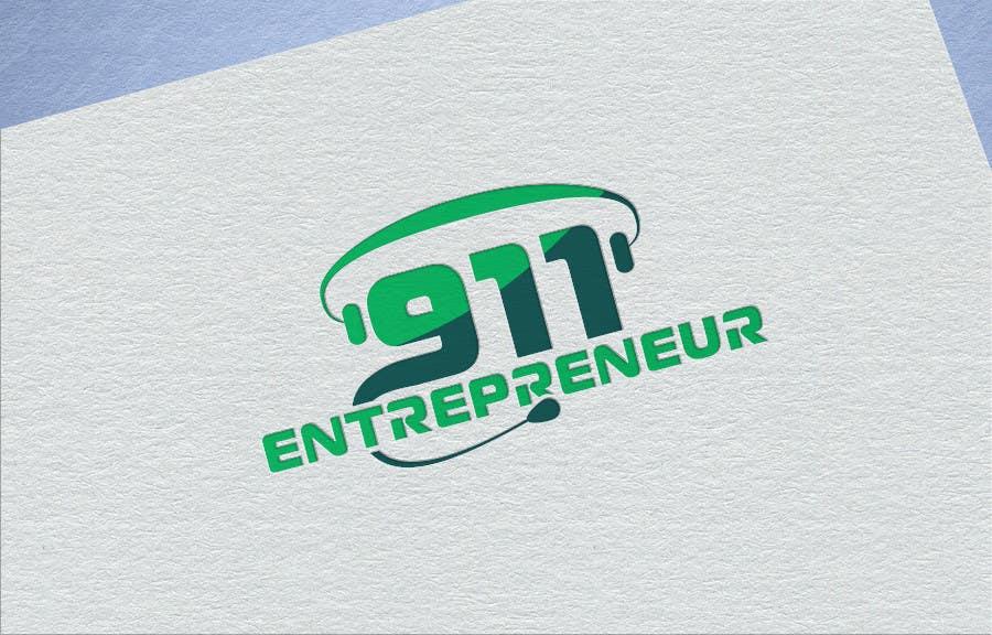 Penyertaan Peraduan #26 untuk Design a Logo for E N T R E P R E N E U R 9 1 1