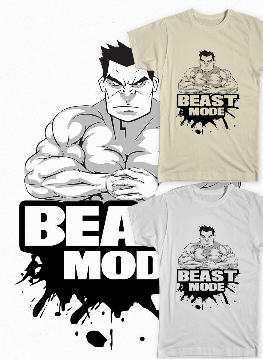 Konkurrenceindlæg #                                        48                                      for                                         Design a T-Shirt for Mens Gym Wear.
