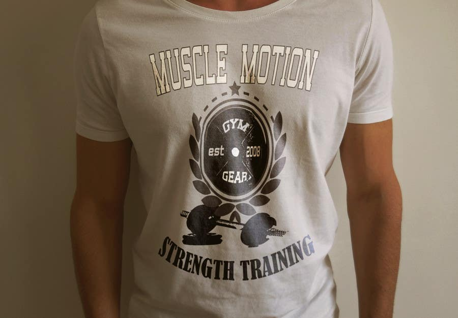 Konkurrenceindlæg #                                        41                                      for                                         Design a T-Shirt for Mens Gym Wear.