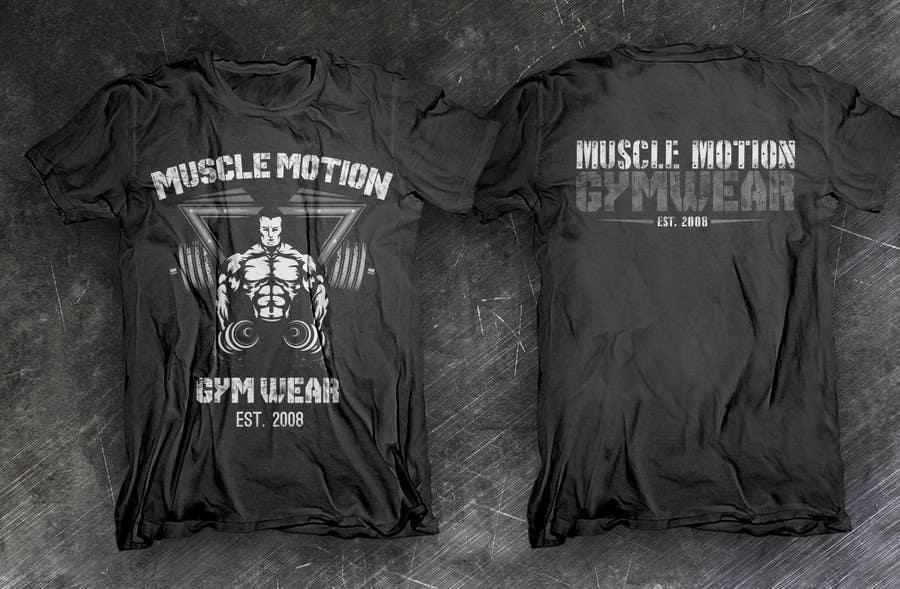 Konkurrenceindlæg #                                        20                                      for                                         Design a T-Shirt for Mens Gym Wear.
