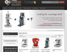 #80 untuk Design a Logo for home espresso machines oleh DigiMonkey