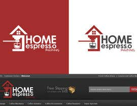#86 para Design a Logo for home espresso machines por dondonhilvano