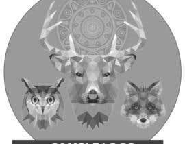 #16 untuk Design a logo with 3 animals (color and b/w lineart) oleh sandypat